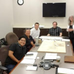 huerta del valle ontario planning meeting - Fausto Reyes, Necils Lopez, Maria Alonso, Kirill Volchinskiy, Cathy planning director, city inspector, Arthur Levine, Cash Sutton III (electrical engineer), Brad Mimlitz via phone, Larry Schlossberg via phone